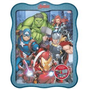Marvel Avengers. Storie di latta. Ediz. a colori. Con gadget