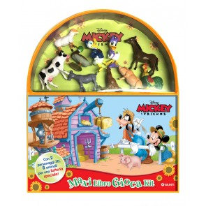In fattoria. Mickey & friends. Maxi libro gioca kit. Ediz. a colori. Con gadget