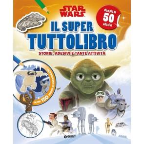 Il super tuttolibro. Star Wars. Con adesivi. Ediz. a colori