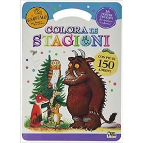 Stagioni a colori. Il Gruffalò. Con adesivi. Ediz. illustrata