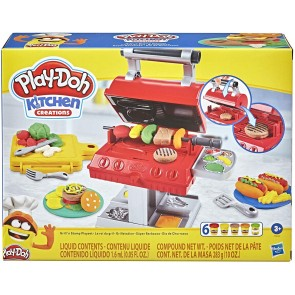 Play-Doh Kitchen Creations Barbecue Playset + 6 vasetti