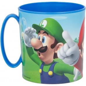 Super Mario. Tazza adatta a Microonde 350 ml