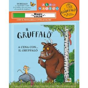 A cena con... Il Gruffalò. Albo magico. Ediz. a colori. Con gadget
