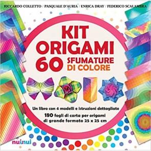 Kit origami. 60 sfumature di colore. Ediz. a colori. Con Materiale a stampa miscellaneo