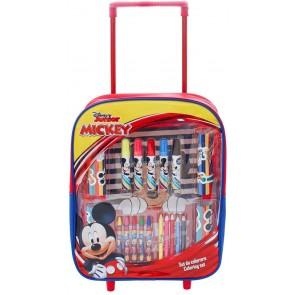 Mickey Mouse Trolley con Accessori per colorare