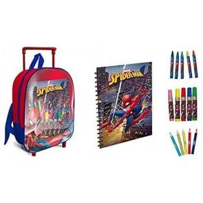 Spider-man Trolley + set da colorare