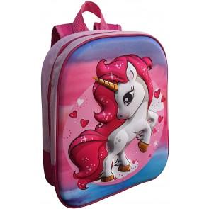 Unicorno zaino asilo 3d