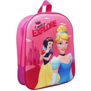 Principesse Disney Zaino Asilo 3D