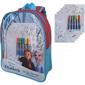Frozen 2 Zaino trasparente + accessori