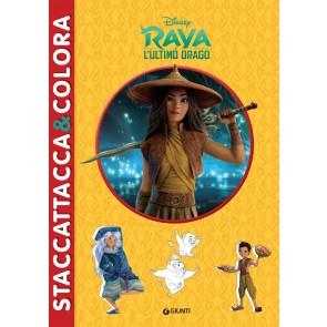 Raya e l'ultimo drago. Staccattacca & colora. Con adesivi. Ediz. illustrata