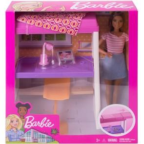 Barbie + Arredamento Loft Letto / Scrivaia