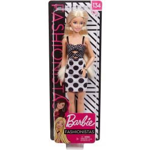 Barbie Fashionista Bambola con Vestito a Pois