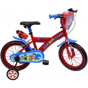 """Bicicletta Paw Patrol 14"""" con rotelle"""