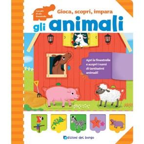 Gli animali. Gioca, scopri, impara. Ediz. a colori