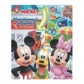 Divertiamoci insieme! Cerca trova impara. Mickey & friends. Libro finestrelle. Ediz. a colori