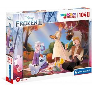 Frozen II - Supercolor Puzzle 104 Pz