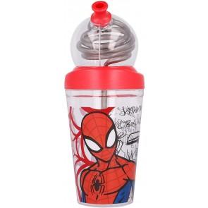 Bicchiere Looping 420 ml Spiderman Urban Web