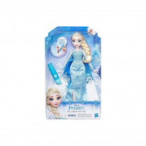 Bambola Elsa con Mantello Cambia Colore Frozen