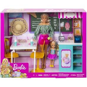 Barbie - Cafe Set Bambole e Gelateria
