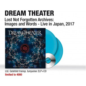 Lost Not Forgotten Archives: Images and Words. Live in Japan 2017 (2 LP Transparent Turquoise + CD)