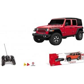 Motors Jeep Wrangler JL modello in scala 1:24 fino a 20 km/h di velocità auto giocattolo per bambini 63615