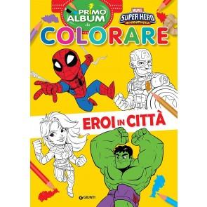 Eroi in città. Marvel Super Hero Adventures. Primo album da colorare. Ediz. a colori