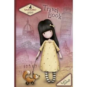 Let's travel. Travel book. Gorjuss