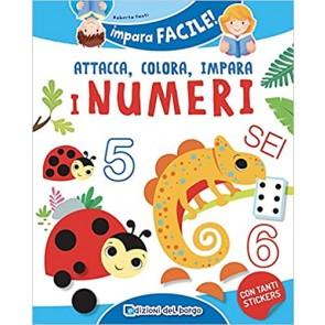 I numeri da 1 a 10. Gioca con gli stickers, colora e impara. Con adesivi. Ediz. a colori