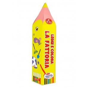 Leggi e colora la fattoria. Matitoni. Ediz. a colori. Con scatola di pennarelli