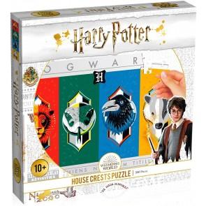 Puzzle da 500 Pezzi. Harry Potter: Le Quattro Case di Hogwarts