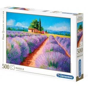 Puzzle Clementoni 500 pezzi. Lavender Scent