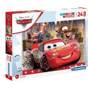 Cars 24 maxi pezzi Supercolor Puzzle