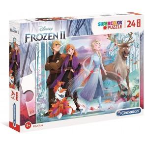 Disney Frozen 2 24 maxi pezzi Supercolor Puzzle