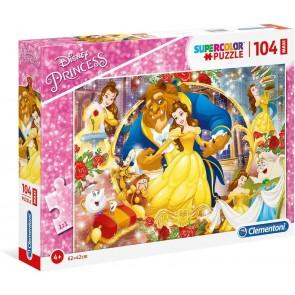 Disney Princess Beauty and The Beast 104 maxi pezzi Supercolor Puzzle
