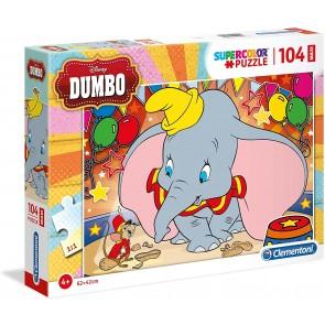 Puzzle Maxi 104 Pz. Dumbo
