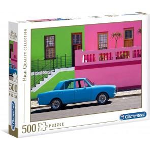 The Blue Car Puzzle 500 pezzi