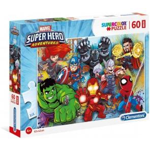 Puzzle Maxi 60 Pz Marvel Super Hero