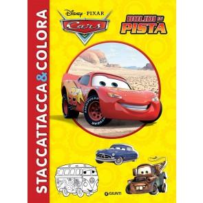 Bolidi in pista. Cars. Staccattacca & colora. Con adesivi. Ediz. illustrata