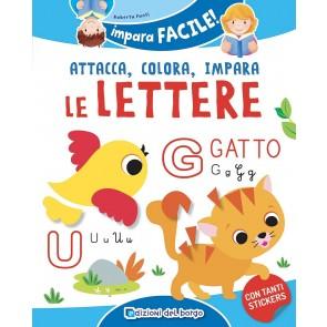 Le lettere dell'alfabeto. Con adesivi. Ediz. a colori