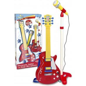 Toy Band Star Chitarra rock con microfono