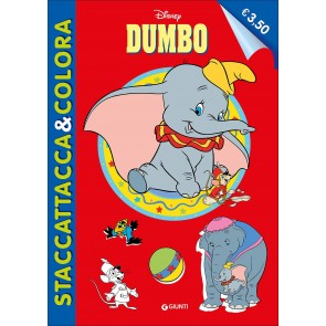 Dumbo. Staccattacca e colora. Con adesivi. Ediz. illustrata