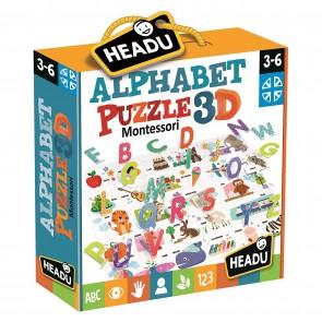 Montessori. Alphabet Puzzle 3D