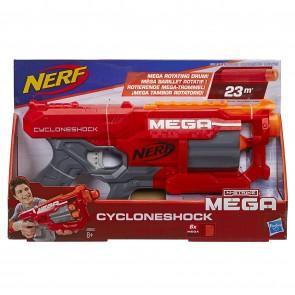 Nerf.  Mega Cycloneshock, Blaster con Dardi