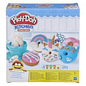 Play-Doh Kitchen. Ciambelle Deliziose