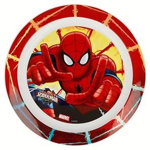 Spiderman. Piatto Micro Kids. Marvel