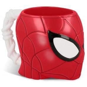 Spiderman. Tazza 3D a Forma di Personaggi