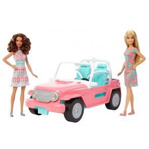 Barbie Jeep con 2 Bambole