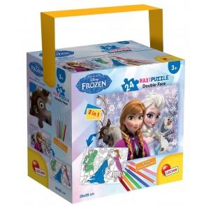 Disney Frozen. Puzzle In A Tub Mini 35 X 50 24 Pezzi Frozen