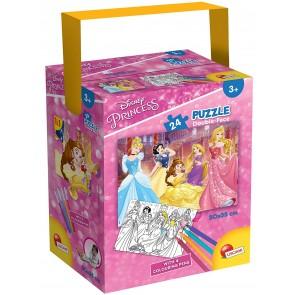 Disney Princess. Puzzle In A Tub Mini 35 X 50 24 Pezzi Princess