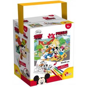 Disney Mickey Mouse & Friends. Puzzle In A Tub Mini 35 X 50 60 Pezzi Mickey
